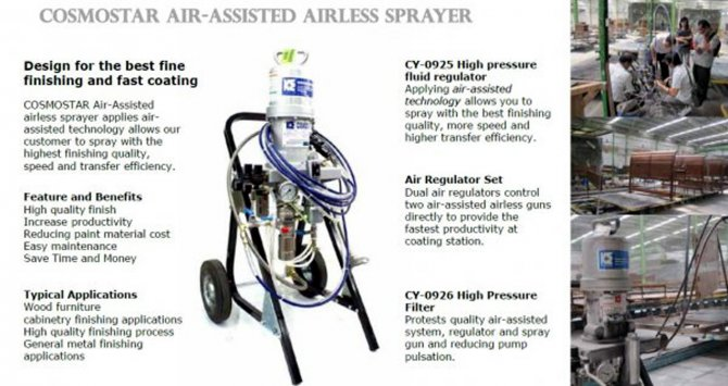 Air-Assisted Airless Sprayer