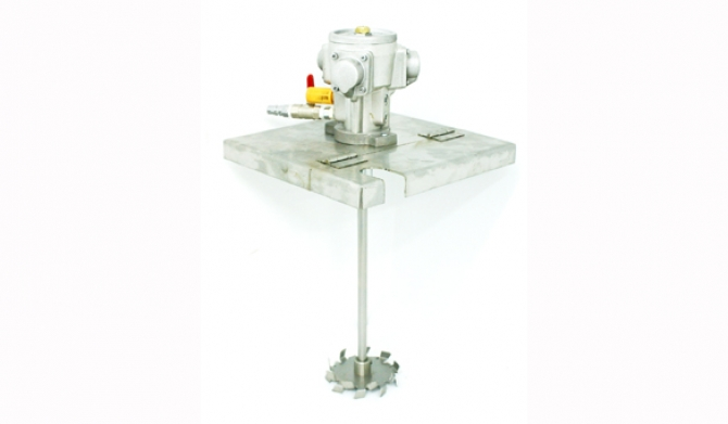 Square Cap Mounting Agitator