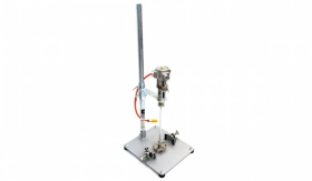 Fixed Drum Mounting with Elevatable Stand Agitator